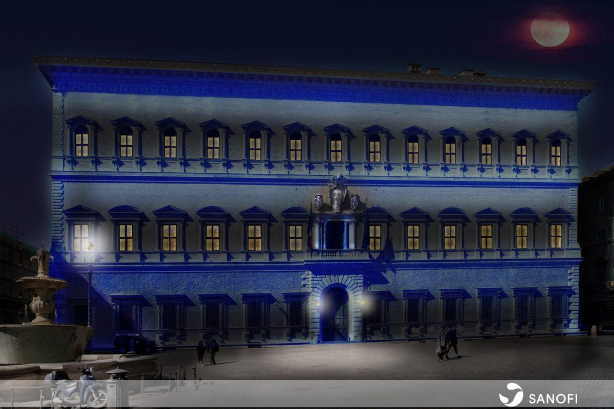 sanofi palazzo farnese roma